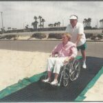 WHEELCHAIR ACCESS WITH MAT FACTORY SAFETY DECK II